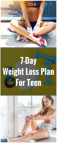 7-Day Weight Loss Plan For Teen