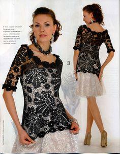 Modemagazine & -bücher - Zhurnal MOD, MOA Fashiom No 531 crochet patterns - ein Designerstück von Duplet bei DaWanda