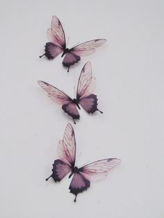 3 Luxury Amazing in Flight  Butterflies 3D  by MyButterflyLove, $11.50