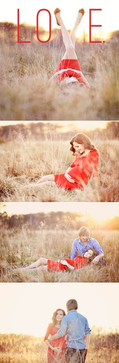 A Miracle of Love – Outdoor Maternity photo idea