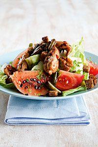 Lämmin kanasalaatti vesimelonin kera | Reseptit | Valintatalo