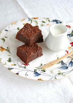 Guinness brownies / Brownies de Guinness by Patricia Scarpin, via Flickr