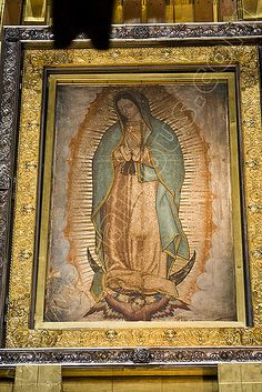 Narrated story of the virgin of guadalupe