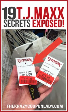 I thought I knew everything there was to know about saving at T.J.Maxx until I read this!