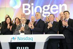 Biogen ringing the bell!