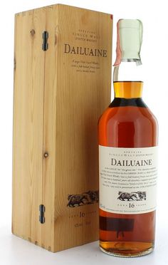 Dailuaine 16yo flora and fauna. Yet to be tasted.