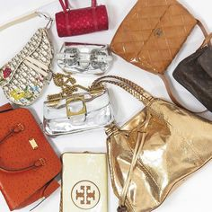 Bags from Chanel, Gucci, Louis Vuitton, Dior, Fendi, Michael Kors, Tory Burch and Etro www.sabrinascloset.com