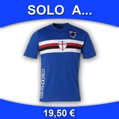 TS Stripe Royal - T-shirt girocollo stampata con applicato patch logo Ufficiale Composizione tessilie: 100% Cotone