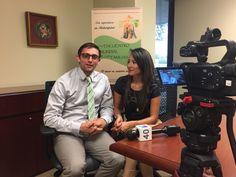 Entrevista para Univision 40 camino al Encuentro Mundial de Familias