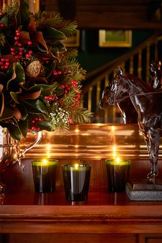 Gifts Inspired by The Polo Bar: The Bedford Holiday candle captures the  classic scents of the season.