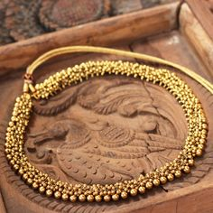Siddhalakshmi temple jewellery necklaces gold plated on silver metal