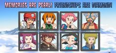 Pokémon - Sinnoh Gym Leaders. ❤️
