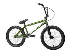 "Sunday Bikes ""Scout"" 2017 BMX Bike - Translucent Slimer Green 