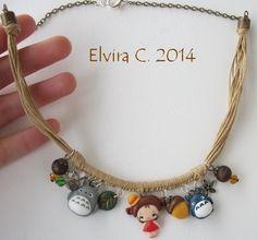 My neighbor Totoro necklace by elvira-creations.deviantart.com on @deviantART