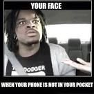 This guy looks like my friend Craig a little bit|||When you lose your cell phone...