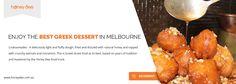 Loukoumades Food Truck Melbourne