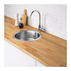 IKEA - BOHOLMEN, Single bowl top mount sink, 25-year Limited Warranty. Read about the terms in the Limited Warranty brochure.