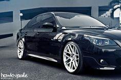 BMW E60 5series On Morr Wheels