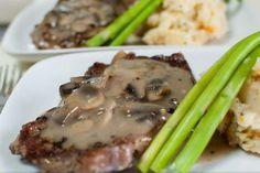 Salsa de champiñones para carne: http://salsa-de-champinones-para-carne.recetascomidas.com/ #salsas #recipes #receta