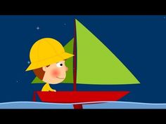 Maman les petits bateaux (qui vont sur l'eau...) - YouTube Nursery Rhymes, Transportation, Homeschool, French, Youtube, Kids, Showgirls, Songs, Rhymes Songs