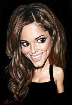 Caricatura de Cheryl Cole