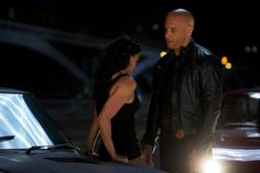 Vin Diesel y Michelle Rodriguez - Dominic Toretto y Letty