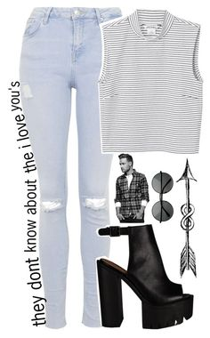 """tmh series pt. 12"" by c-astaway ❤ liked on Polyvore featuring Topshop, Monki and kikitags"