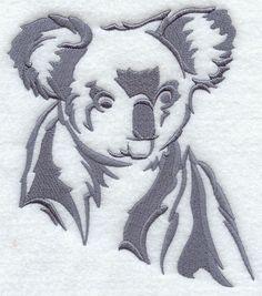 Australian Silhouette Koala