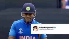 desh ko aapke khel ki zaroorat hai – Lata Mangeshkar asks MS Dhoni not to retire One Day Match, Marlborough College, Lata Mangeshkar, St Lawrence, Cricket World Cup, Read Later, Best Player, Retirement, Comebacks