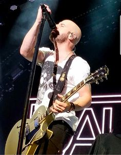 Chris Daughtry, Shaved Head, Peeps, Idol, Music Instruments, Guitar, Shaved Heads, Musical Instruments, Guitars