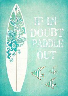 8.9AUD - Surf Beach Quotes Ocean 100% Cotton Canvas Quality Print Wall Art Home Decore #ebay #Home & Garden