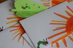 cute diy very hungry caterpillar  invitations