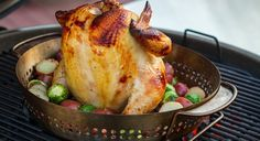 A Crowd Pleaser: Buttermilk Brined Beer Can Chicken