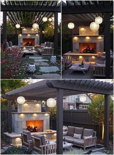The pergola you choose will probably set the tone for your outdoor living space, so you will want to choose a pergola that matches your personal style as closely as possible. The style and design of your PerGola are based on personal Wooden Pergola Kits, Metal Pergola, Pergola With Roof, Covered Pergola, Pergola Shade, Garden Structures, Outdoor Structures, Petite Pergola, Gazebo