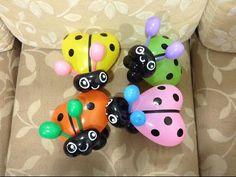 氣球瓢蟲 造型氣球 小瓢蟲 balloon ladybug - YouTube