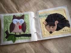 PATTERN for Forest Friends Animals plush/quiet por shelleywallace