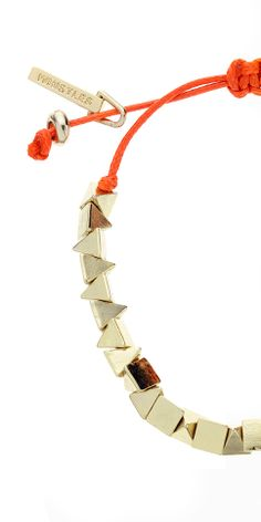 Pyramid Cord Bracelet