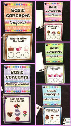 Grab N' Go Basic Concepts {Temporal, Qualitative, Quantitative, Spatial}