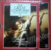 THE GREAT COMPOSERS AND THEIR MUSIC 60 MOZART THE MARRIAGE OF FIGARO AND DON GIOVANNI + BOOKLET  Sealed  BBC SYMPHONY ORCHESTRA AND CHORUS, ORCHESTRA OF THE ROYAL OPERA HOUSE COVENT GARDEN, COLIN DAVIS 412 831-1