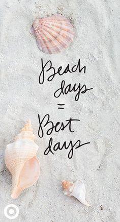 Beach days = Best days // Fleur.pinterest ❁