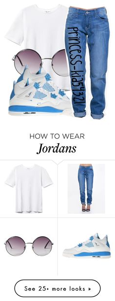 """*"" by princess-kia54321 on Polyvore featuring Monki, NIKE and ZooShoo"