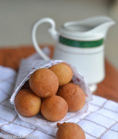 African Doughnut (Drop Doughnut)15 minute African doughnut- crunchy on the outside and pillowy soft  on the inside. Packed with flavor. Sure, it takes time and forethought into making classic doughnuts , and if you are pressed for time . You just don't want to go through that process. Rest assured these may just qualify …