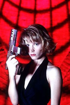 Bridget Fonda Point of No Return OK it didn't win an Oscar, but love the plot!