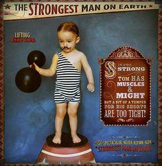 little muscle man