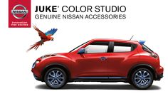 Juke Color Studio by Genuine Nissan accessories let's you personalize your Nissan Juke.