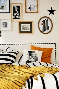 #bedroom #bedroomdecor #decoration #pillow #walldecor