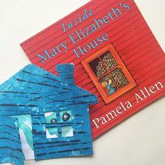 Inside Mary Elizabeth's House by Pamela Allen - www.acraftyliving.com