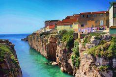 Peniche fishermen' houses - Portugal