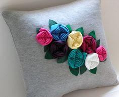 Bouquet pillow.