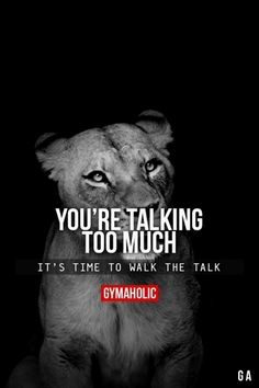 Image shared by Gymaholic. Find images and videos about fitness, fit and motivation on We Heart It - the app to get lost in what you love. Fitness Motivation Quotes, Weight Loss Motivation, Fitness Goals, Fitness Memes, Workout Fitness, Health Fitness, Bodybuilding, Talk Too Much, Motivational Quotes